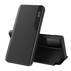 Coque Portefeuille Livre Cuir Etui Clapet L07 pour Huawei P Smart (2021) Noir
