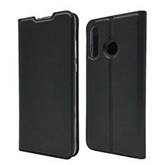 Coque Portefeuille Livre Cuir Etui Clapet L07 pour Huawei P30 Lite Noir
