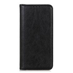 Coque Portefeuille Livre Cuir Etui Clapet L07 pour LG K52 Noir