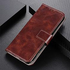 Coque Portefeuille Livre Cuir Etui Clapet L07 pour Motorola Moto G9 Plus Marron