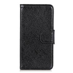 Coque Portefeuille Livre Cuir Etui Clapet L07 pour Oppo Reno5 Pro+ Plus 5G Noir