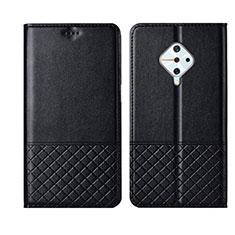 Coque Portefeuille Livre Cuir Etui Clapet L07 pour Vivo X50 Lite Noir