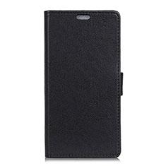 Coque Portefeuille Livre Cuir Etui Clapet L08 pour Asus Zenfone 5 ZE620KL Noir