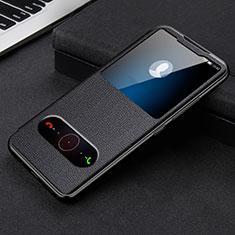 Coque Portefeuille Livre Cuir Etui Clapet L08 pour Huawei Honor 30 Noir