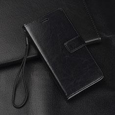 Coque Portefeuille Livre Cuir Etui Clapet L08 pour Huawei Mate 20 Lite Noir