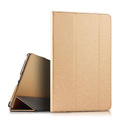 Coque Portefeuille Livre Cuir Etui Clapet L08 pour Huawei MediaPad M6 10.8 Or