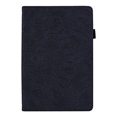 Coque Portefeuille Livre Cuir Etui Clapet L08 pour Huawei MediaPad M6 8.4 Noir