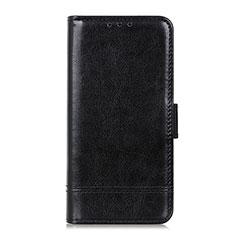 Coque Portefeuille Livre Cuir Etui Clapet L08 pour Huawei Y6p Noir