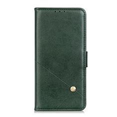 Coque Portefeuille Livre Cuir Etui Clapet L08 pour LG K52 Vert