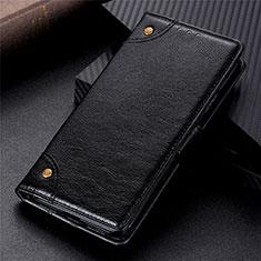 Coque Portefeuille Livre Cuir Etui Clapet L08 pour Motorola Moto G 5G Noir