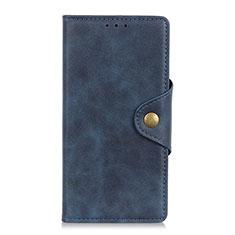 Coque Portefeuille Livre Cuir Etui Clapet L08 pour Oppo Reno5 Pro+ Plus 5G Bleu