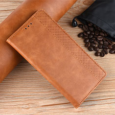 Coque Portefeuille Livre Cuir Etui Clapet L08 pour Samsung Galaxy M21s Orange