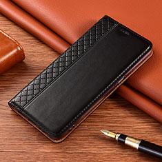 Coque Portefeuille Livre Cuir Etui Clapet L08 pour Xiaomi Poco X3 NFC Noir