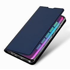 Coque Portefeuille Livre Cuir Etui Clapet L09 pour Huawei Honor 10 Lite Bleu