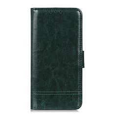 Coque Portefeuille Livre Cuir Etui Clapet L09 pour Huawei Y5p Vert