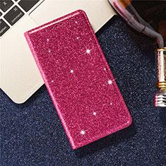 Coque Portefeuille Livre Cuir Etui Clapet L09 pour Samsung Galaxy S20 Plus 5G Rouge