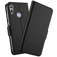Coque Portefeuille Livre Cuir Etui Clapet L10 pour Huawei Honor 10 Lite Noir