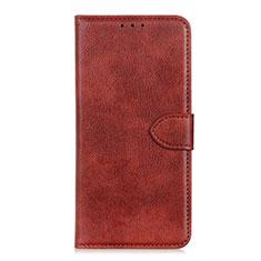 Coque Portefeuille Livre Cuir Etui Clapet L10 pour Huawei Honor 9S Marron