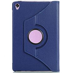 Coque Portefeuille Livre Cuir Etui Clapet L10 pour Huawei MediaPad M6 10.8 Bleu