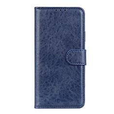 Coque Portefeuille Livre Cuir Etui Clapet L10 pour Motorola Moto Edge Bleu