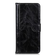 Coque Portefeuille Livre Cuir Etui Clapet L10 pour Realme X7 Pro 5G Noir