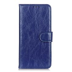 Coque Portefeuille Livre Cuir Etui Clapet L11 pour Huawei Enjoy 10S Bleu