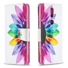 Coque Portefeuille Livre Cuir Etui Clapet L11 pour Nokia 2.4 Colorful