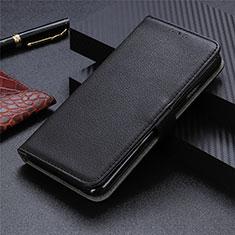 Coque Portefeuille Livre Cuir Etui Clapet L11 pour Realme X7 Pro 5G Noir