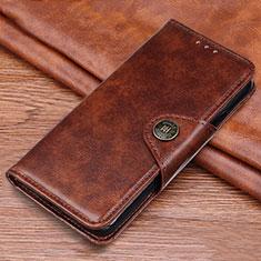 Coque Portefeuille Livre Cuir Etui Clapet L11 pour Samsung Galaxy M21s Marron