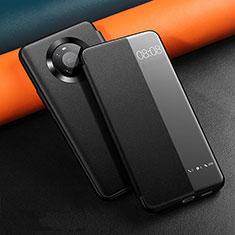 Coque Portefeuille Livre Cuir Etui Clapet L12 pour Huawei Mate 40 Noir
