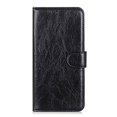 Coque Portefeuille Livre Cuir Etui Clapet L12 pour Huawei Y5p Noir