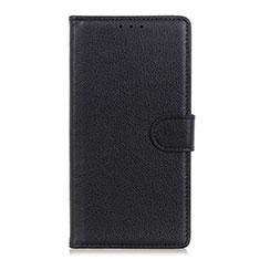 Coque Portefeuille Livre Cuir Etui Clapet N04 pour Huawei P40 Noir
