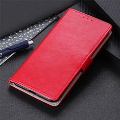 Coque Portefeuille Livre Cuir Etui Clapet N07 pour Huawei P40 Rouge