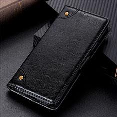 Coque Portefeuille Livre Cuir Etui Clapet N10 pour Samsung Galaxy Note 20 5G Noir