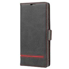 Coque Portefeuille Livre Cuir Etui Clapet N11 pour Samsung Galaxy Note 20 5G Noir