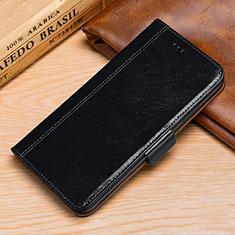 Coque Portefeuille Livre Cuir Etui Clapet P01 pour Huawei P30 Lite Noir