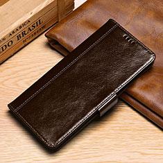 Coque Portefeuille Livre Cuir Etui Clapet P01 pour Samsung Galaxy S10e Marron