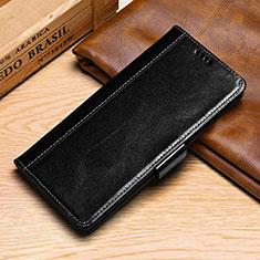 Coque Portefeuille Livre Cuir Etui Clapet P01 pour Samsung Galaxy S10e Noir