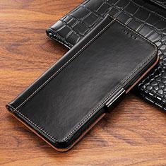 Coque Portefeuille Livre Cuir Etui Clapet P04 pour Apple iPhone Xs Noir