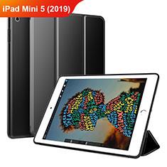 Coque Portefeuille Livre Cuir Etui Clapet pour Apple iPad Mini 5 (2019) Noir
