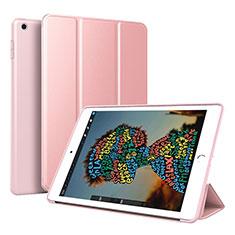 Coque Portefeuille Livre Cuir Etui Clapet pour Apple iPad Mini 5 (2019) Or Rose