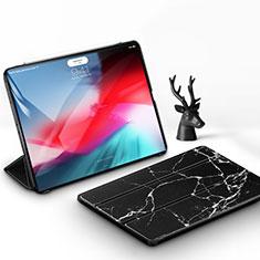 Coque Portefeuille Livre Cuir Etui Clapet pour Apple iPad Pro 11 (2018) Noir