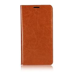 Coque Portefeuille Livre Cuir Etui Clapet pour Asus Zenfone 2 Laser 6.0 ZE601KL Orange