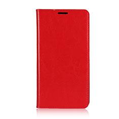 Coque Portefeuille Livre Cuir Etui Clapet pour Asus Zenfone 2 Laser 6.0 ZE601KL Rouge