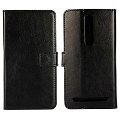 Coque Portefeuille Livre Cuir Etui Clapet pour Asus Zenfone 2 ZE551ML ZE550ML Noir