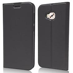Coque Portefeuille Livre Cuir Etui Clapet pour Asus Zenfone 4 Selfie ZD553KL Noir