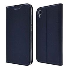 Coque Portefeuille Livre Cuir Etui Clapet pour Asus ZenFone Live L1 ZA550KL Bleu