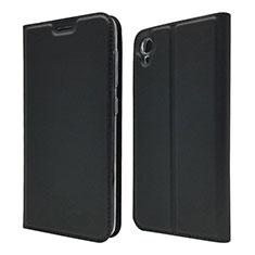 Coque Portefeuille Livre Cuir Etui Clapet pour Asus ZenFone Live L1 ZA550KL Noir