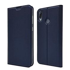 Coque Portefeuille Livre Cuir Etui Clapet pour Asus Zenfone Max M2 ZB633KL Bleu