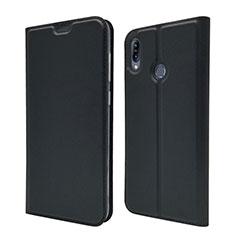 Coque Portefeuille Livre Cuir Etui Clapet pour Asus Zenfone Max M2 ZB633KL Noir